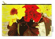 Summer Flowers Yellow Daisies Carry-all Pouch