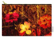 Summer Glow On Flowers Carry-all Pouch