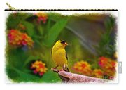 Summer Goldfinch Carry-all Pouch