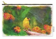 Summer Goldfinch - Digital Paint 4 Carry-all Pouch