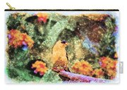 Summer Goldfinch - Digital Paint 5 Carry-all Pouch