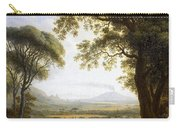 Summer Harvest On Caserta Plain Carry-all Pouch
