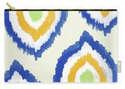 Summer Ikat- Art By Linda Woods Carry-all Pouch