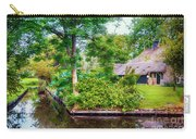 summer in old dutch village, Giethoorn Carry-all Pouch