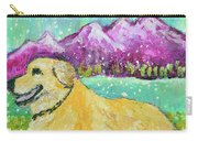 Summer In The Mountains With Summer Snow Carry-all Pouch
