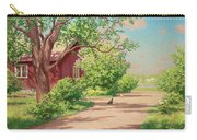 Summer Landscape With Hens Carry-all Pouch