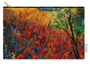 Summer Landscape With Poppies  Carry-all Pouch