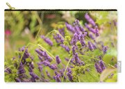Summer Lavender In Lush Green Fields Carry-all Pouch