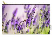 Summer Lavender  Carry-all Pouch by Nailia Schwarz