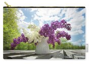Summer Lilacs Carry-all Pouch