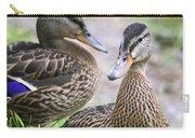 Summer Mallard Couple Carry-all Pouch