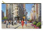 Summer Morning At Flatiron Plaza Carry-all Pouch