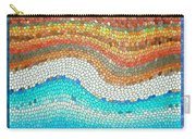 Summer Mosaic Carry-all Pouch by Melissa A Benson
