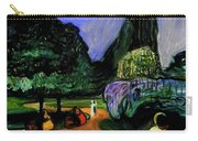 Summer Night At Studenterlunden Carry-all Pouch