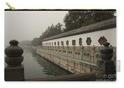 Summer Palace Pond With Ornate Balustrades Carry-all Pouch