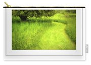 Summer Path And Tree Poster Carry-all Pouch