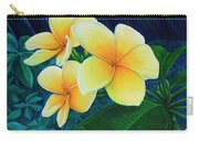 Summer Plumeria Carry-all Pouch