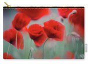 Summer Poppy Meadow 2 Carry-all Pouch