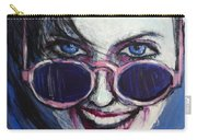 Summer - Portrait Of A Woman Carry-all Pouch