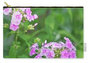 Summer Purple Flower Carry-all Pouch