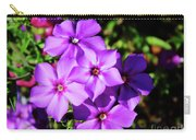 Summer Purple Phlox Carry-all Pouch