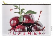 Summer Red Cherries Carry-all Pouch