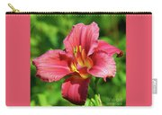 Summer Red Lily Carry-all Pouch