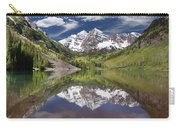 Maroon Bells Aspen Colorado Summer Reflections Carry-all Pouch