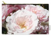 Summer Rose Garden Pink Flowers Baslee Troutman Carry-all Pouch