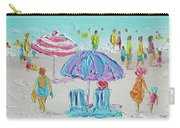 Summer Scene Diptych 1 Carry-all Pouch