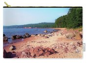 Summer Shores Of Lake Superior Carry-all Pouch