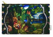Summer Stained Glass Panel Carry-all Pouch