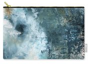 Summer Storm- Abstract Art By Linda Woods Carry-all Pouch by Linda Woods
