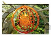 Summer Sun Wind Spinner Carry-all Pouch