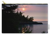 Summer Sunrise Lake Superior Carry-all Pouch