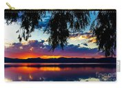 Sunset At Agency Lake, Oregon Carry-all Pouch