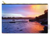 Summer Sunset At Low Tide Carry-all Pouch
