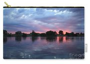 Summer Sunset On Yakima River 4 Carry-all Pouch