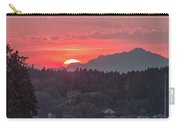 Summer Sunset Over Yukon Harbor.4 Carry-all Pouch