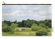 Summer Tractor In Field Corinna Maine Carry-all Pouch