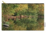 Summer Trees Sunset Carry-all Pouch
