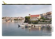 summer vacation scene Neos Marmaras Greece Carry-all Pouch
