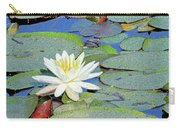Summer Water Lily Carry-all Pouch