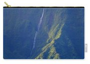 Summer Waterfall Behind Hanalei Bay Carry-all Pouch