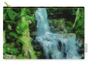 Summer Waterfall In West Milton Carry-all Pouch