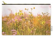 Summer Wildflower Field Of Sunflowers Carry-all Pouch