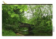 Summer Woodland And The Patapsco River Maryland Carry-all Pouch