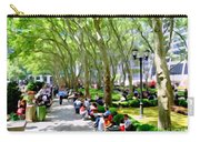 Summertime In Bryant Park Carry-all Pouch