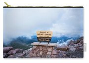Summit Of Mount Evans Carry-all Pouch