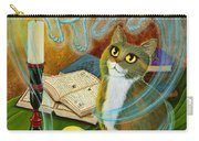 Summoning Old Friends - Ghost Cats Magic Carry-all Pouch